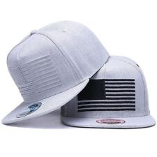 c1032a13 Cap Flat Bill Raised Flag Embroidery Baseball Men Snap-back Hat Outdoor Hip  Hop