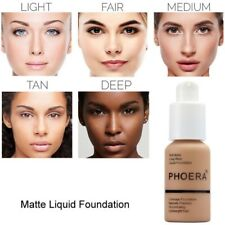 Women's Liquid Foundation Base Soft Matte Long Wear Oil Control Concealer Makeup