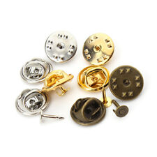 50 Tie Tacks Butterfly Pinch Back Pins Clutch Back Lapel Scatter Pin Jewlery
