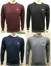 HUGO BOSS CREW NECK LONG SLEEVE JUMPER FOR MEN-with tipping!!!!