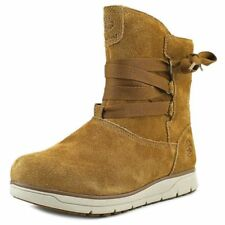 Timberland LEIGHLAND PULL WP WL Womens Brown TB0A17MW Winter Boots