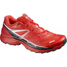73772cdea1fa Mens Salomon S-lab Wings Trail Running Shoes - Red