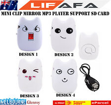 Hot Selling Mirror Clip My Neighbor Totoro Mp3 Player Support TF Micro SD Card