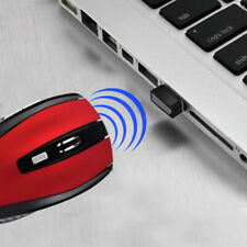 2.4GHz Wireless 2000DPI Cordless Optical Vogue Mouse USB Interface PC Laptop