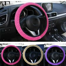 Car Steering Wheel Cover Warm Auto Decoration Protection  Universal Soft Plush