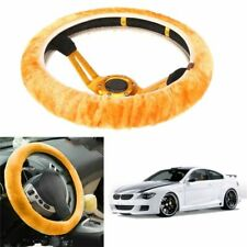 Soft Wool Plush Car Steering Wheel Cover Universal Auto High Quality Accessories