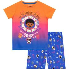 Disney Coco Short Pyjamas | Girls Disney Coco Miguel PJs | Kids Coco Pyjama Set