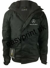 MERCEDES BENZ JACKET / COAT FLEECE LINED WITH EMBROIDERED LOGOS