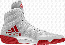 super popular f8765 88678 Adidas Adizero Varner MEN S Wrestling Shoes, Red-Silver AC7498 NEW