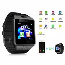 Bluetooth Smart Watch DZ09  Camera Phone GSM SIM For Android Samsung IOS iPhone
