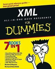 XML All-in-One Desk Reference For Dummies Wagner, Richard, Mansfield, Richard P