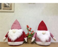 Christmas Santa Claus Ornament featured with Bamboo Charcoal Bag Xmas Home Decor