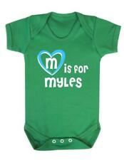 M Is For Myles - Myles Baby Bodysuit / Baby Vest / Playsuit