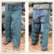 """Chain Saw Safety Chaps, Forester Wrap, Adjustable Waist, Leg Length 35"""", 37"""",40"""""""