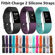 NEW Fitbit Charge 2 Silicone Band Easily Remove Wristband Watch Strap Bracelet