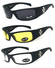 Choppers Motorcycle Riding Wrap Sunglasses With Hard Case FREE POSTAGE