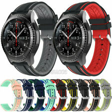 Silicone Band Watch Strap 22mm Bracelet For Samsung Galaxy Watch 46mm Gear S3