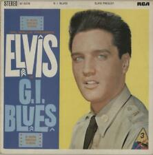Elvis Presley vinyl LP album record G.I. Blues - Orange UK SF5078 RCA