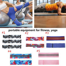 Elastic Workout Resistance Bands Loop CrossFit Fitness Yoga Booty Exercise Hot