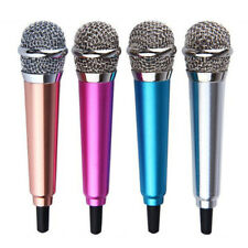 HK- Mini 3.5mm Wired Microphone Mic Phone Laptop MSN Karaoke For Android IOS Coo