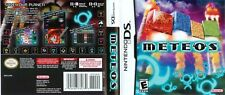 Nintendo DS replacement case with Cover Meteos