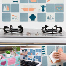 Multi-function Waterproof Self Adhesive Kitchen Bathroom Anti Oil Wall Sticker
