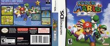 Nintendo DS replacement case with Cover Super Mario 64 DS