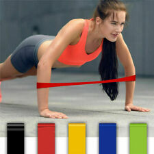 1x Yoga Gym Fitness Resistance Elastic Training Rubber Band Stretch Exercise Hot