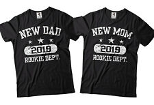 Pregnancy Reveal Matching T-shirts New Dad Mom Mothers Day Gift Fathers Day Gift