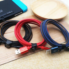 iPhone 8 Plus Charger Cable Braided Apple 7 X XS XR 6 5 USB Lightning Cable 2M