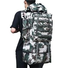 Camping Backpacks Molle Tactical Large Bags Hiking Travel Outdoor Sports 100 L