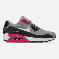 online store e79d5 a8ede NIKE MENS AIR MAX 90 ESSENTIAL WOLF GREY WHITE PINK SHOES 2019 **FREE POST