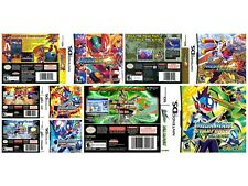Nintendo DS replacement case with Covers Megaman ZX - Starforce All Ds covers
