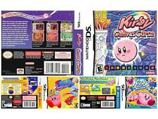 Nintendo DS replacement case with Covers Kirby All Ds cover available Look