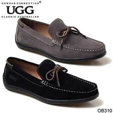 27690f965a1 UGG Australia Barren leather loafers mens shoes size 9 gray0 results ...