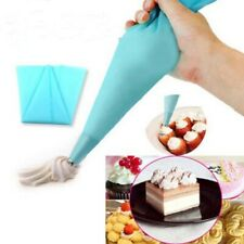 Silicone Reusable Icing Piping Cream Pastry Bag Cake Decorating Kitchen Tool DIY