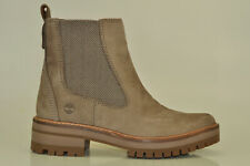 Timberland Courmayeur Valley Chelsea Boots High Heels Ladies Shoes A1rrk
