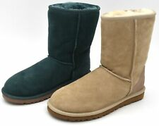 UGG AUSTRALIA WOMAN ANKLE BOOTS BOOTIES WINTER SUEDE CODE W CLASSIC SHORT 5825 W