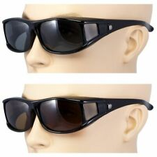 POLARIZED Cover Put Over Large Rx Sunglasses (Suitable for outdoor activities)