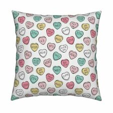 Valentines Day Valentines Day Throw Pillow Cover w Optional Insert by Roostery