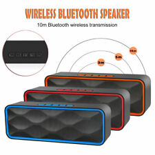 Bluetooth Speaker Portable Dual Horn Outdoor Stereo Super Bass Wireless Speakers