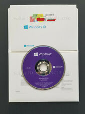 Windows 10 Pro OEM DVD WIN 10 Professional Full version 64bits/32bits