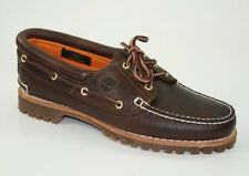 c3394ab73f811f Timberland Heritage Noreen 3-Eye Moccasins Boat Shoes Women's Lace-Up 51304