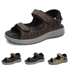 Men's Beach Open Toe Slingback Straps Flats Non-slip Outdoor Sport Sandals Shoes