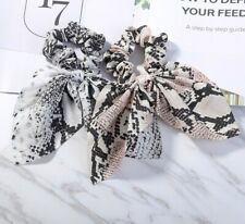Hair Ties Elastic Bow Rope Bands Ring Girl Accessories Women Stretch Ponytail