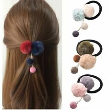 Ties Hair For Girls Accessories Fashion Acrylic Rubber Elastic Bands Rope Rubber
