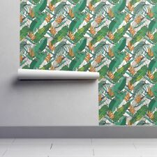 Peel-and-Stick Removable Wallpaper Tropical Leaves Tropical Summer Banana Leaves
