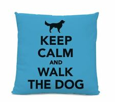 Keep Calm and Walk the Dog Pillow