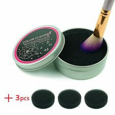Makeup Brush Color Cleaner Sponge Make Up Remover From Brushes Cleaning Tools