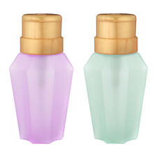 Empty Pump Dispenser Plastic Bottle For Liquid Nail Art Acetone Remover
